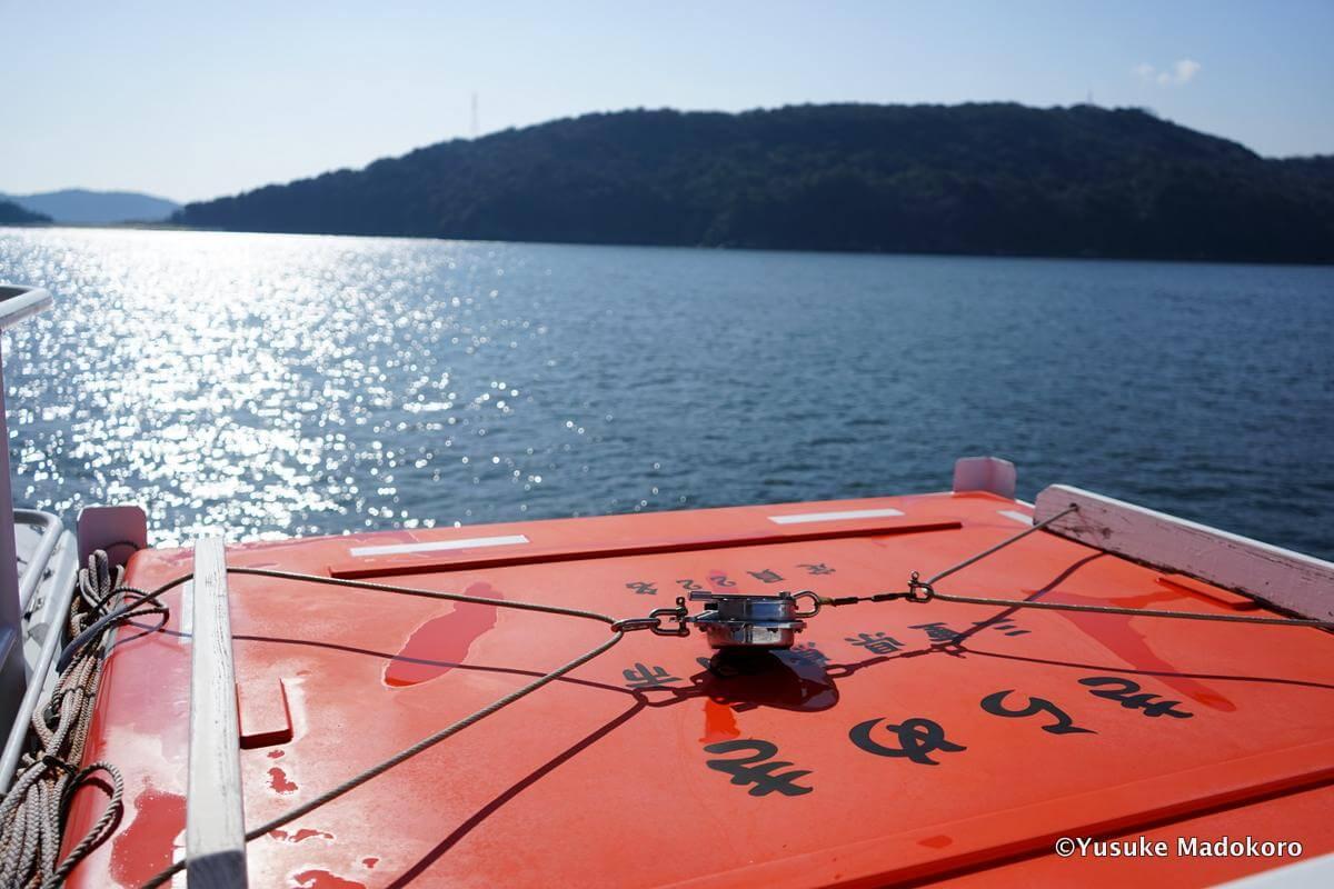 答志島への船「きらめき」
