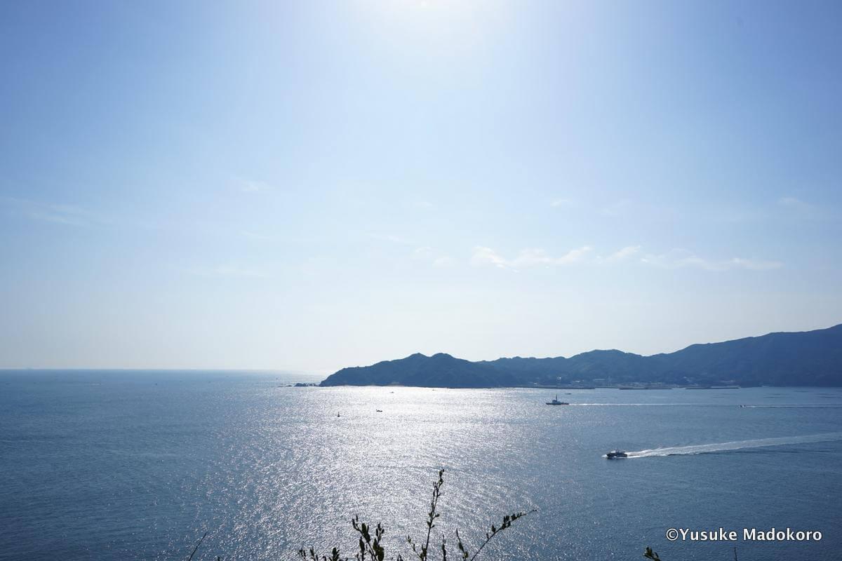 答志島の和具地域からの眺め