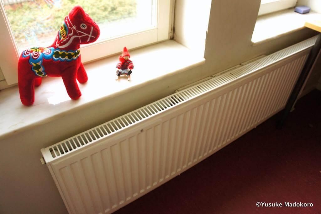 北欧の冬を支える超強力な温水ヒーター