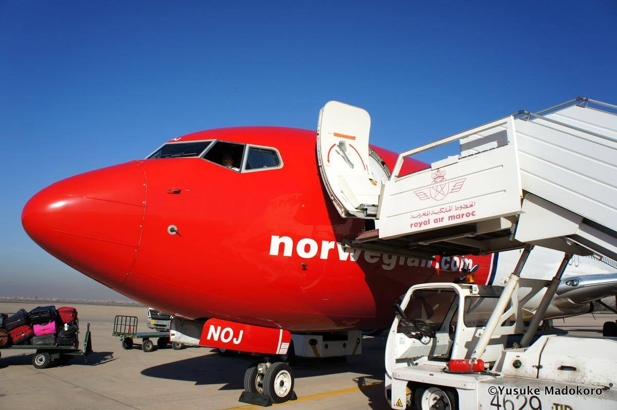 Norwegian Air Shuttle機体