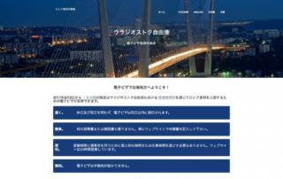 ロシア連邦外務省の電子ビザ申請画面
