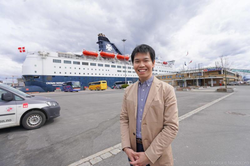 北欧 オスロ〜コペンハーゲン クルーズ船の旅